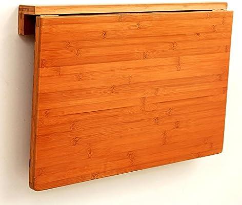 Mesa plegable Mesa de Pared 60x40cm Mesa de Escritorio de ...