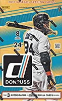 2016 Panini Donruss Baseball Hobby Box (24 Packs/Box, 8 Cards/Pack. 3 Autographs or Memorabilia Per Box, 5 Parallels, 22 Inserts) (Release Date: 3/2/16)