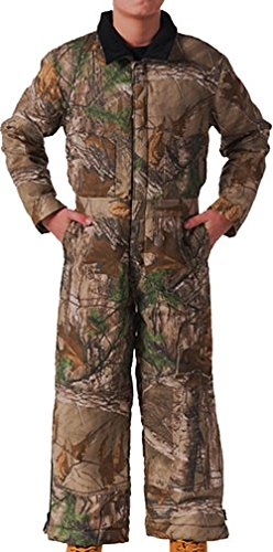 Walls Boy's Insulated GWM Coverall, Mossy Oak Breakup Country, L - Regular
