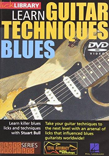 Blues Guitar Techniques - Stevie Ray Vaugan Style