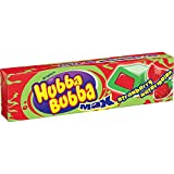 Wrigley Strawberry-Watermelon Hubba Bubba Max Bubble Gum -- 144 per case.