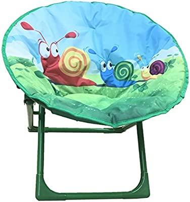 Attirant Amazon.com: Yummy Cooky Moon, Lounge Chair For Toddlers And Kids,  Lightweight Foldable Kids Saucer Chair: Kitchen U0026 Dining