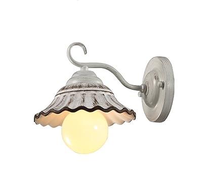 LYTSM lámpara de Pared, American Village francés romántico Cafe Tienda de Ropa Sala de Estar
