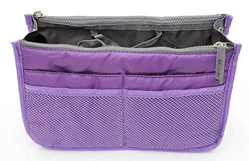 NeDonald Travel Organiser Insert Tidy Cosmetic Bag Purple