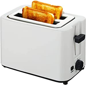 2 Slice Toaster,6 Shade Settings .Removable Crumb Tray