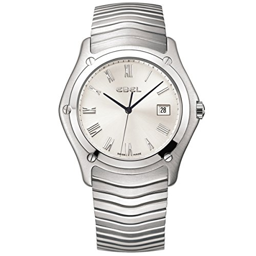 Ebel-Watch-Classic-1215801-Silver-Men