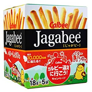 Amazon Com Calbee Potato Sticks Jagabee Soy Sauce