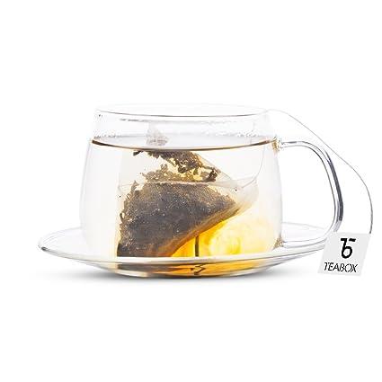 Té negro Teabox Organic Assam 40 g, 16 bolsas Teapac   Ingredientes naturales: té negro Assam   Fresco y sellado en origen en la India: Amazon.es: ...
