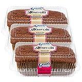Green's Bakery Kosher 3 Pack Traditional Honey Cake Dessert Gift Pack