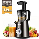 Argus Le Slow Masticating Juicer Easy Clean Cold Press Juicer (Small Image)