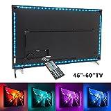 Nexlux TV Backlight 9.8ft LED USB TV Bias Lighting Kit 5050 RGB Multicolor