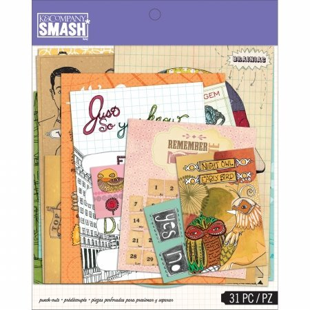 (K&Company 30672000 SMASH Punch-Out Assortment)