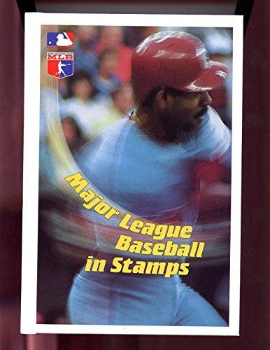 1988 Philatelic International Complete MLB Baseball Stamp Sheet Set Grenada Card (Sheet Grenada)