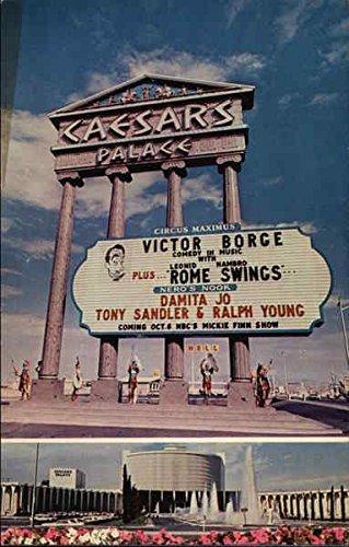 Ceasar's Palace Las Vegas, Nevada Original Vintage - Ceasar Palace Las Vegas