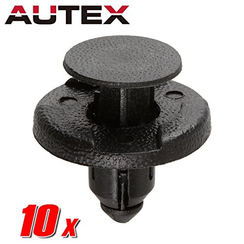 PartsSquare 10pcs Fender Liner Fastener Rivet Push Clips Retainer Replacement for Infiniti QX50 Q40 Q50 QX70 Q70 QX60 QX80 QX56 Q60 FX45 FX35 Cube Frontier Rogue Murano Quest NV3500