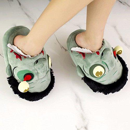 Warm Slippers Bei Plush wang Zombie Slippers Zombie Ravenous YAwaSwHWqx