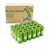 PET N PET Poop Bags OXO-Biodegradable, 24 Rolls/360 Bags Dog Waste Bags, Unscented, Leak-Proof, Easy Tear-Off