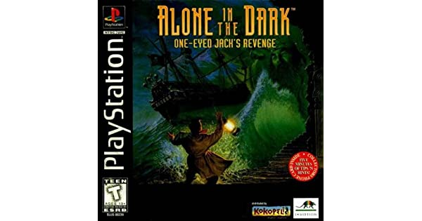 Amazon com: Alone in the Dark: One-Eyed Jack's Revenge - PlayStation