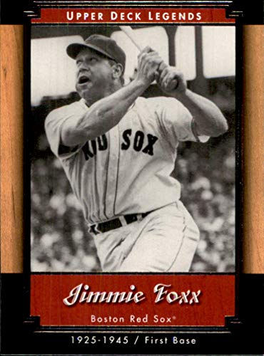 2001 Upper Deck Legends #23 Jimmie Foxx BOSTON RED SOX HOF
