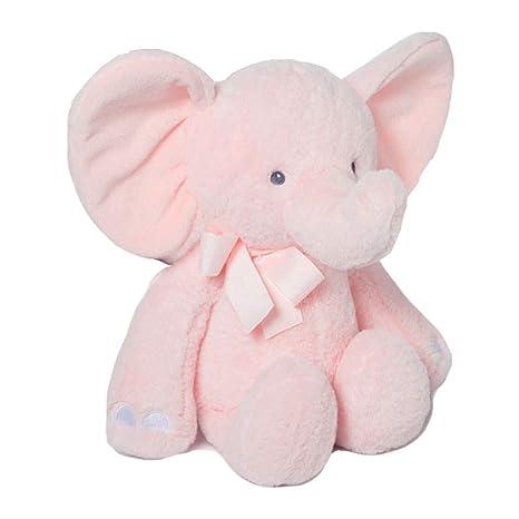 Peluche Baby Elefante Rosa de 38cm