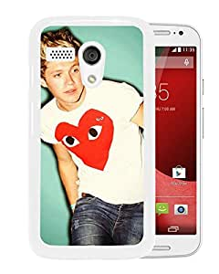 one direction niall horan White Motorola Moto G Screen Phone Case Attractive and Fashion Design
