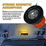 LED Strobe Light, 12V-24V Amber 40 LED Warning