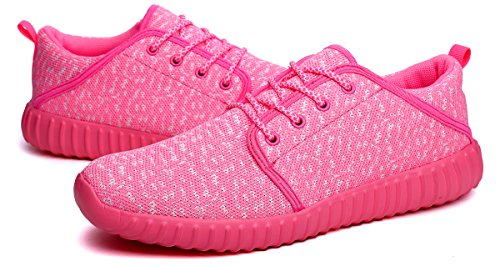 Image of ditont Lightweight Fashion Sneakers Casual Walking Shoes for Kids Boys Girls(DTYZ588Pink39)