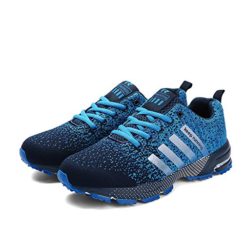 Trainers Sports Jogging Shoes Fitness Gym Walk Athletic Men Women Kuako Blue Casual Running Air 1 Sneakers 84Xnq