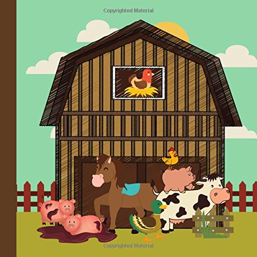 Books : Farm Animal Baby Shower Guest Book: Farm Animal Baby Shower Guest Book + Bonus Gift Tracker + Bonus Baby Shower Printable Games You Can Print Out to Decorations,Farm Animal Baby Shower Games