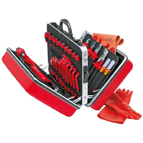 Image of Arc Welding Equipment Knipex, 98 99 14, Insulated Tool Set, 48 pc.