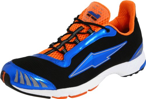 AVIA Men's Avi-Bolt III,Black/Tld Blue/Rhythm Orange/Chrome Silver,8 D US