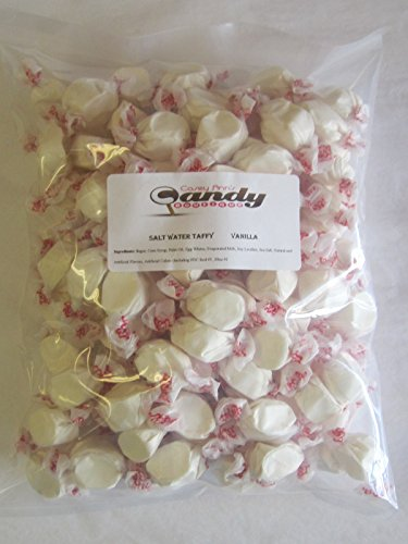 Vanilla Flavored Taffy Town Salt Water Taffy 2 - Vanilla Salt