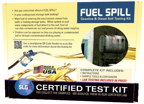 Fuel Spill (DRO/GRO) Test Kit 1PK (5 Bus. Days) Schneider Labs