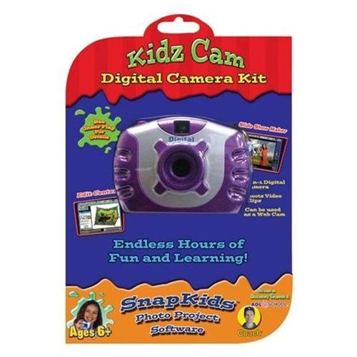 Kidz Digital Camera Kit - Red Digital Concepts