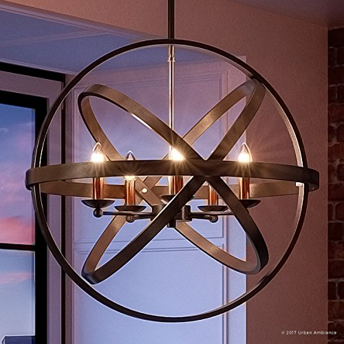 Luxury Vintage Chandelier, Large Size: 22.75