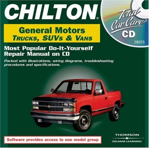 Total Car Care CD-ROM: General Motors Trucks, SUVs & Vans, 1982-1999 Jewel Case