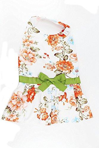 Midlee Vintage Floral Big Dog Dress by (X-Large) - Dog Easter Dress