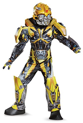 Disguise Bumblebee Movie Prestige Costume, Yellow, Small