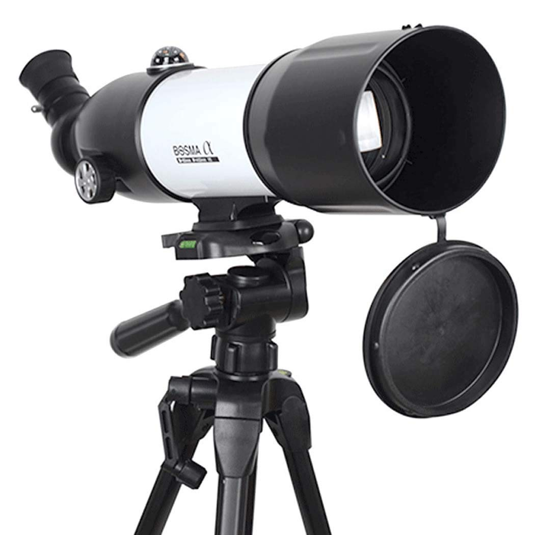 Concentration 131X Multi-Layer Green Film Ideal Telescope for Beginners Focal Length 400Mm Portable Refractor Telescope Fully Coated Glass Optics