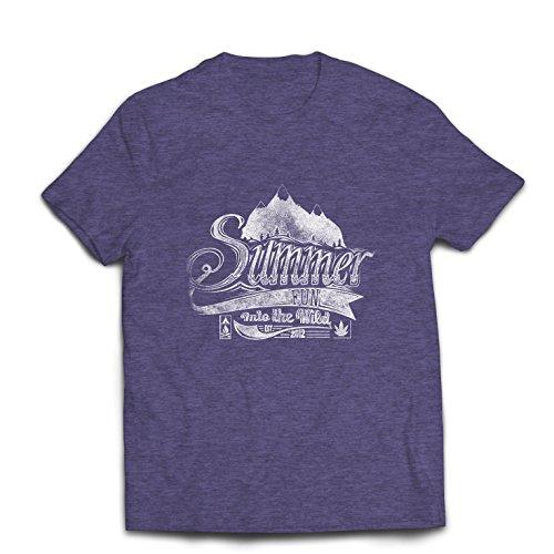 Camisetas Hombre Diversión de Verano en la Naturaleza: Trajes de Vacaciones, Citas de Aventuras Inspiradoras, Lemas de...