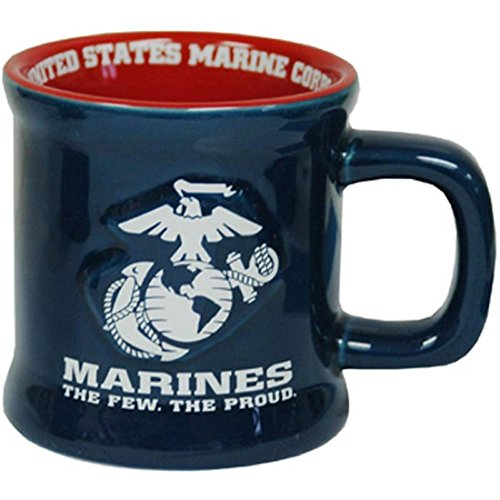 Jenkins Enterprises United States Marines Ceramic Relief Mug ()
