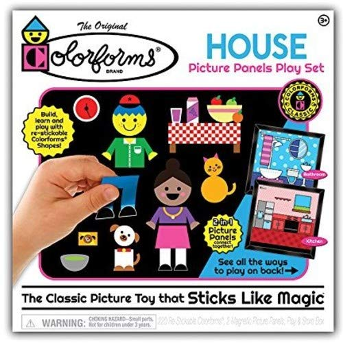 Colorforms - House Picture Panels Play Set