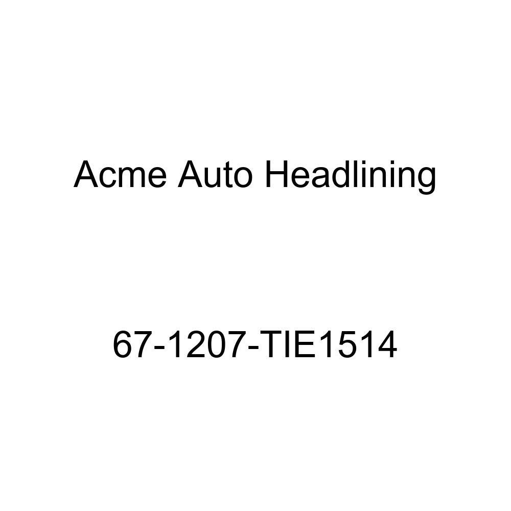 Acme Auto Headlining 67-1207-TIE1514 Silver Blue Replacement Headliner Oldsmobile Delta 88 4 Door Sedan 5 Bows