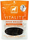 Jerky Vitality Dog Treat Quantity: 5-oz, Flavor: Duck, My Pet Supplies