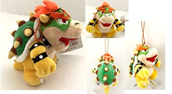 Amazon.com: Bowser King Plush Keychain with Chain 5.5 ...