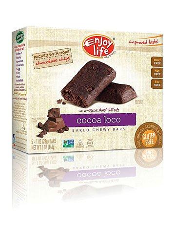 Enjoy Life Baked Chewy Bars Gluten Free Cocoa Loco -- 5 Bars ()