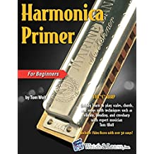 Harmonica Primer Book For Beginners With Video and Audio Access