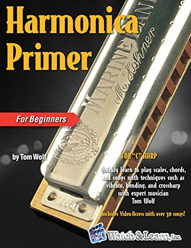 Harmonica Primer Book For Beginners With Video and Audio (How To Play Harmonica)