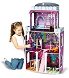 Jupiter riesengroßes Halloween Puppenhaus 118x62x28cm passend für Monster High Barbie