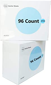 AUXIN,Color Catcher Sheets,Laundry Dye Trapping Sheets (192 Count)